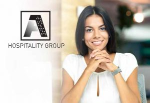 A1 Hospitality Logo and hotel administrator